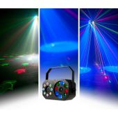 American DJ Stinger Gobo - Color Wash and Red/Green Lasers