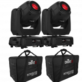 Chauvet Intimidator Spot 360 - Double Pack With Carry Cases