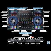 Denon MCX8000 - Standalone DJ Controller For Serato DJ