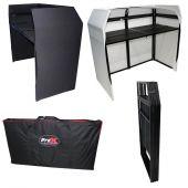 ProX XF-MESA-BL -DJ facade table Station