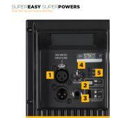 """RCF ART 745A-MK4 - 15"""" 1400W 2-Way Powered Loudspeaker"""