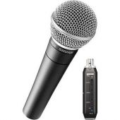 Shure SM58+X2u Vocal Microphone With USB Signal Adapter