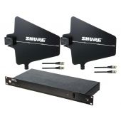 Shure UA844+SWB/LC and UA874-US Active Splitter/Antennen Set