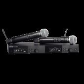 Shure SLXD24D/B58 - Dual Wireless Handheld System